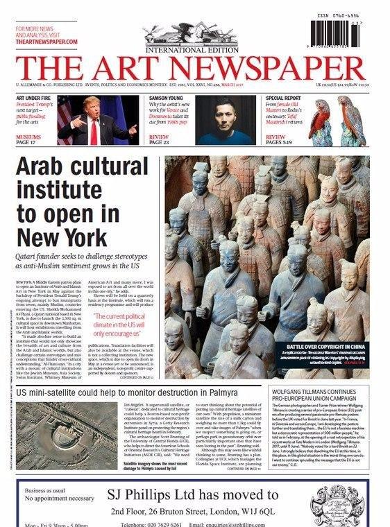 The art newspaper no. 241   ifa gallery.
